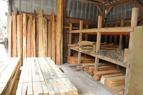 Kiln Dried Lumber